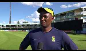 News video: Hilton Moreeng Speaks After 1st ODI South Africa v India | Cricket World TV