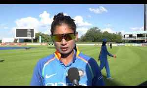 News video: Mithali Raj After India's ODI Win Over South Africa | Cricket World TV