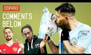 News video: Man City Outclass Arsenal In Wembley Demolition   Comments Below