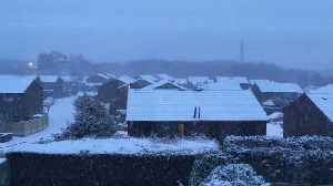 News video: Snow Continues to Affect Greater Manchester
