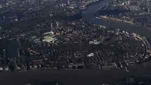 News video: Time Lapse Panorama of London From East to West