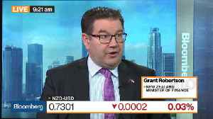 News video: New Zealand Minister Says Kiwi Dollar Well Regulated by Markets