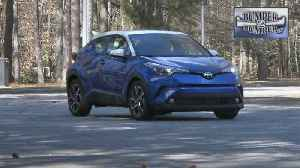 News video: Toyota C-HR, compact and competent.