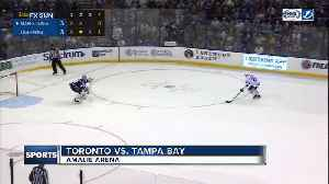 News video: Brayden Point scores shootout winner again, Tampa Bay Lightning edge Toronto Leafs 4-3
