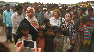 News video: 'Stop all of this crime': Nobel laureates visit Rohingya, call for Suu Kyi to resign
