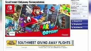 News video: Southwest Airlines teams up with Nintendo for ultimate Nintendo Switch sweepstakes