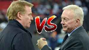 News video: Roger Goodell SUING Jerry Jones for MILLIONS of Dollars!