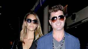News video: Robin Thicke and April Love Geary Welcome First Child