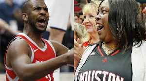 News video: James Harden's Mom Causes Chris Paul to Turn the Ball Over