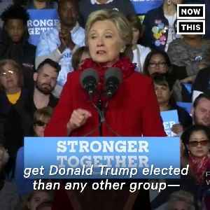 News video: Hillary Clinton Warned Us About Trump and Guns