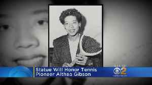News video: USTA To Honor Althea Gibson