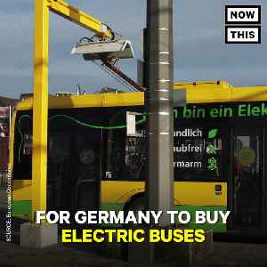 News video: Germany Is Spending $86 Million On Electric Buses
