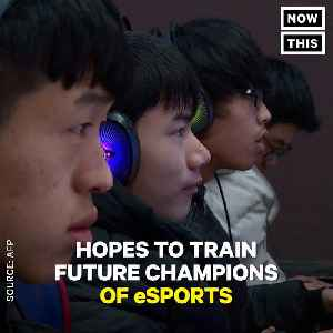 News video: Video Games Are The Curriculum At This Esports School