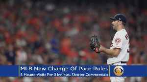 News video: MLB Spring Training Report: Rule Changes Coming This Season