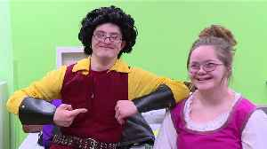 News video: Pennsylvania Theater Puts on Production of `Beauty and the Beast` with Special Needs Actors