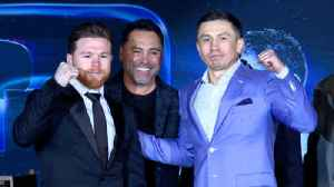 "News video: Canelo Alvarez and Gennady ""GGG"" Golovkin rematch press conference"