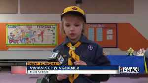 News video: First girls accepted into Cub Scouts program
