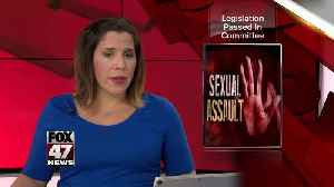 News video: Sexual assault bills passed by state senate