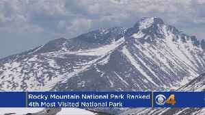 News video: Rocky Mountain National Park Was Among The Most-Visited National Parks Last Year
