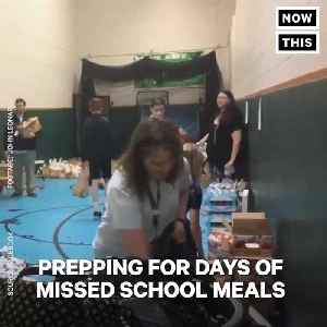 News video: West Virginia Teachers Prepared Lunches for Kids While They Were on Strike