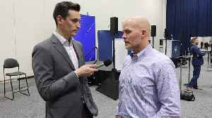 News video: Bills HC Sean McDermott with 7ABC's Joe Buscaglia at the 2018 NFL Combine
