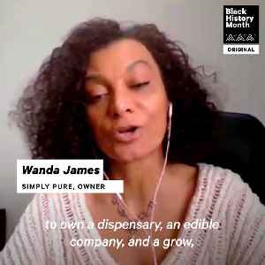News video: Living Legends: Wanda James Is The First African American Dispensary Owner