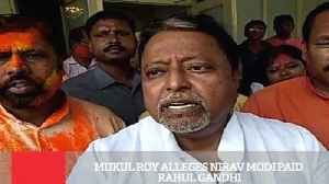 News video: Mukul Roy Alleges Nirav Modi Paid Rahul Gandhi