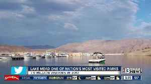 News video: National Park Service: Nearly 7.9 million people visited Lake Mead in 2017