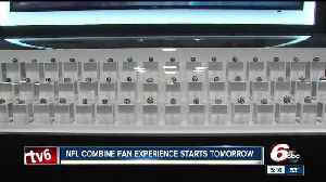 News video: Ultimate NFL Combine Experience opens Thursday in Indianapolis