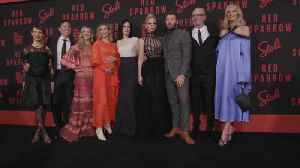 News video: The cast and crew of 'Red Sparrow' give each other praise at the NY premiere