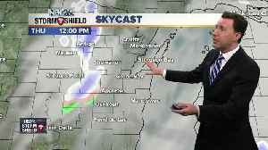 News video: Michael Fish's NBC26 Storm Shield weather forecast