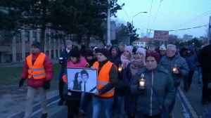 News video: Anger over journalist's murder piles pressure on Slovakia's government