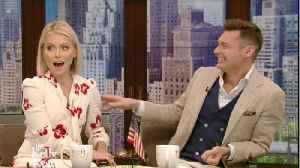 News video: Kelly Ripa Addresses Ryan Seacrest Allegations on 'Live'