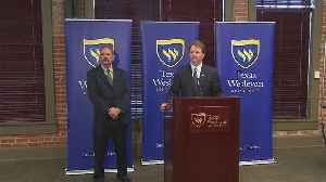 News video: Texas Wesleyan University Baseball Coach Press Conference