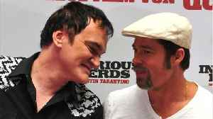 News video: Quentin Tarantino And Brad Pitt Teaming For New Movie