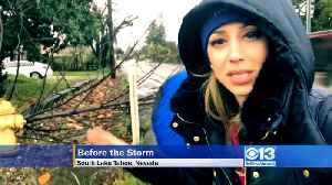 News video: Wind Breaking Tree Branches Across Our Region