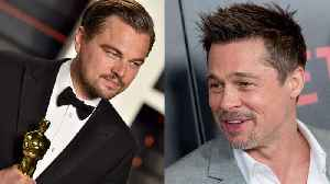News video: Leonardo DiCaprio and Brad Pitt Join Cast of Quentin Tarantino Film
