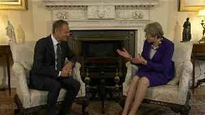 News video: British PM Theresa May prepares landmark Brexit speech