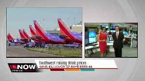News video: Southwest Airlines raising drink prices