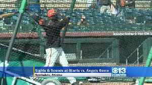 News video: SF Giants Practicing At Spring Training