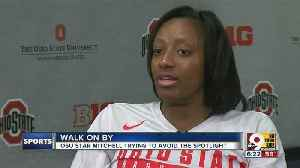 News video: Ohio State basketball standout Kelsey Mitchell is all about living in the moment