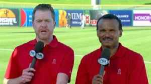 News video: Spring Training Report: Angels overpower Giants