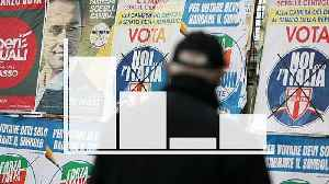 News video: Five charts to help you understand Italy's pivotal election