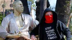 News video: Harvey Weinstein Statue Debuts Before the Oscars