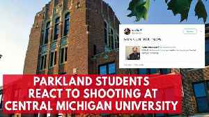 News video: Students In Parkland, Fl React On Social Media To Central Michigan University Campus Shooting