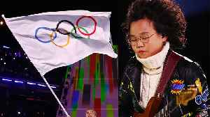 This Teen Guitarist SLAYED The Winter Olympics Closing Ceremony