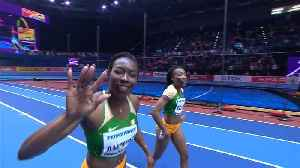 News video: One-two for Ivory Coast in women's 60m world indoor sprint