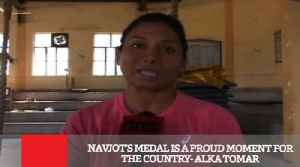 News video: Navjot's Medal Is A Proud Moment For The Country- Alka Tomar