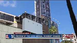 News video: Preview of the 90th annual Academy Awards