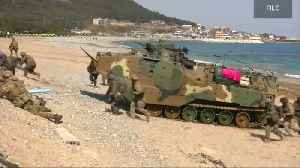 News video: North Korea threatens to 'counter' U.S. over military drills